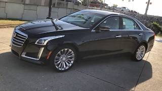 [2018 Cadillac CTS] Walkaround/Overview - (c92218)
