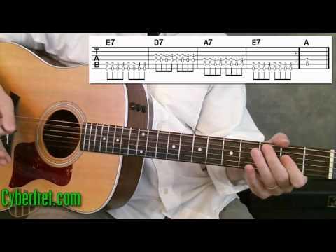 easy blues rhythm guitar in a youtube. Black Bedroom Furniture Sets. Home Design Ideas