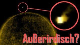 👽 Alien Raumschiff besucht Sonne?