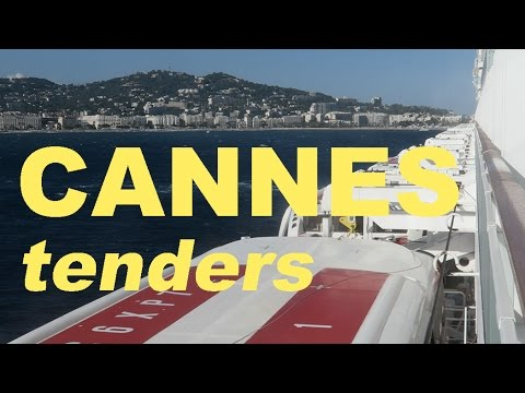 Norwegian Epic Cruise Day 6: Tender Boats at Cannes, France