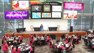 Apoorva at GLAM 2019 - Dream, Believe & Achieve (Special Guest Speaker)