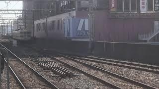 山陽3000系3010F普通東二見行き 山陽明石駅入線
