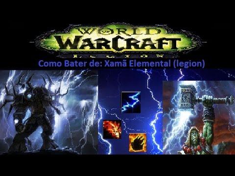 Como bater de: Xamã Elemental (elemental shaman - Legion)