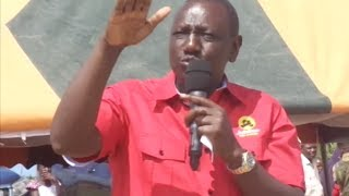 Most problems in Kenya are caused by incompetent governors - DP William Ruto