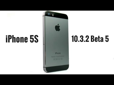 iPhone 5S iOS 10.3.2 Beta 5 Review!