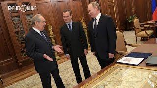 Что Путин подарил Шаймиеву на юбилей