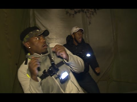 Gopher Football Visits Haunted House