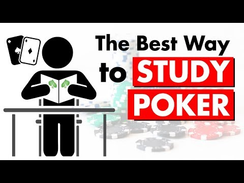 The Best Way to Study Poker in 2019 | Conscious Poker