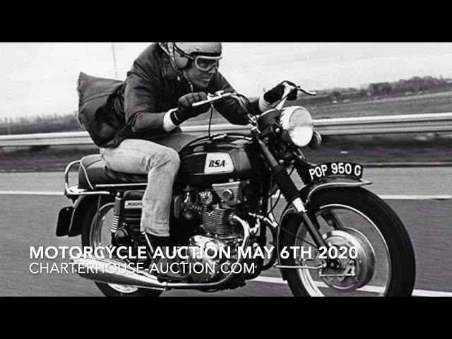 James Bonds' BSA Rocket at Auction