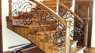 видео Перила кованые для лестницы - фото, цены, ковка лестницы, кованые ограждения лестниц