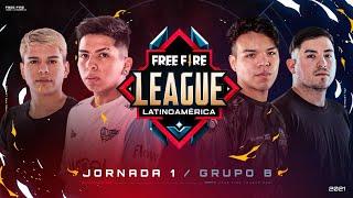 #FreeFireLeague | Apertura 2021 | Grupo B | Jornada 1