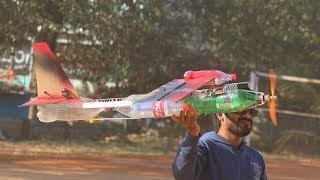 How to make an Aeroplane - Bottle airplane that fly far