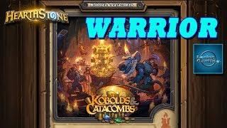 Hearthstone - Kobolds and Catacombs - Final Boss: Vustrasz the Ancient vs. Warrior
