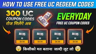 free 300 UC Glitch | Get 300 UC Everyday With This Glitch | Biggest UC Trick Of Pubg Mobile 💯 WORK