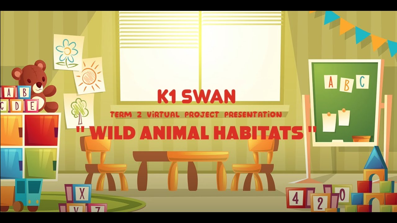 SCP Virtual Project Presentation - Kindergarten 1 - Wild Animal Habitats