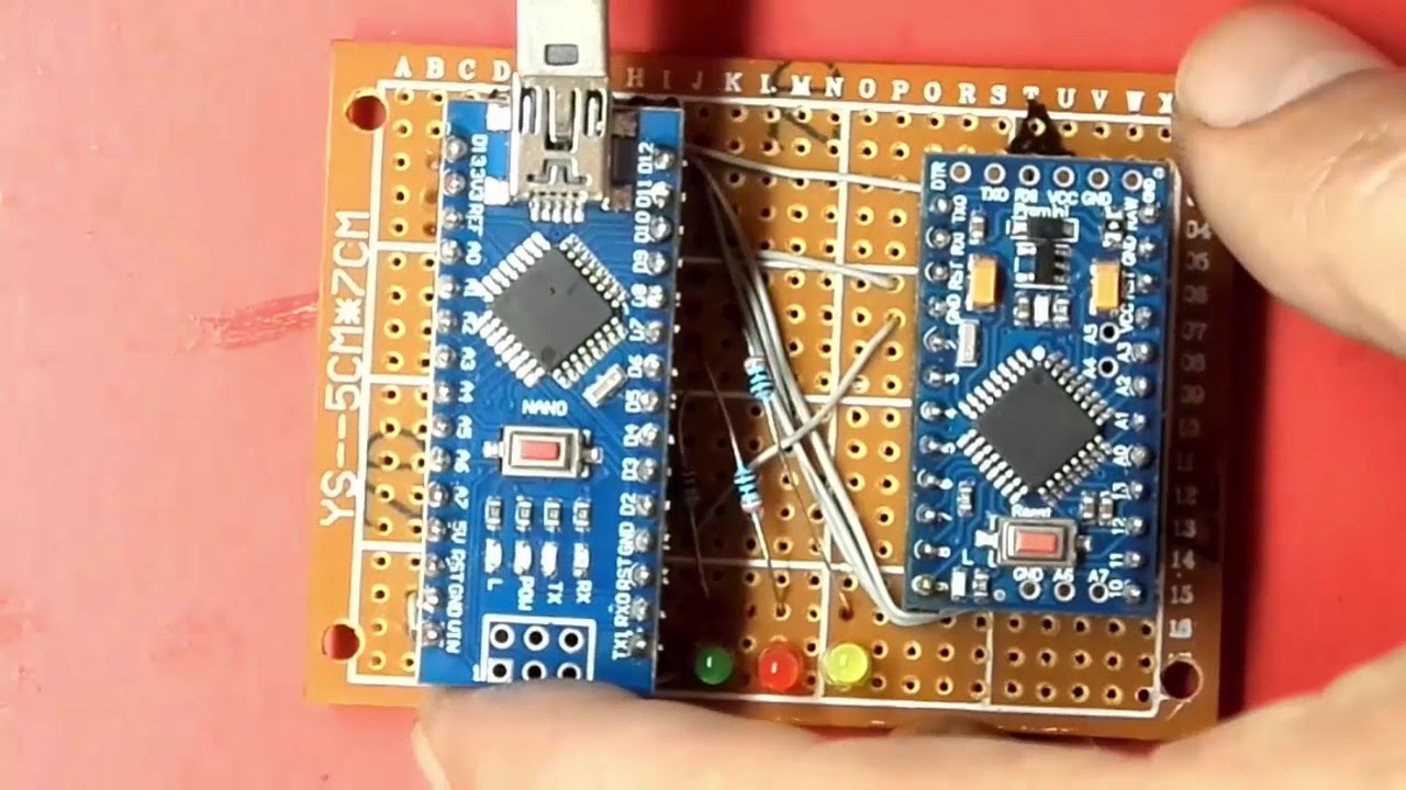 How to program an arduino pro mini with nano