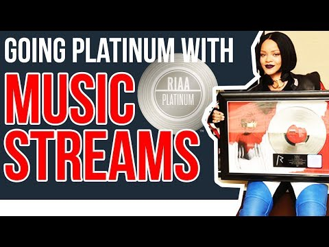 How To Go RIAA PLATINUM With Music Streams!!!