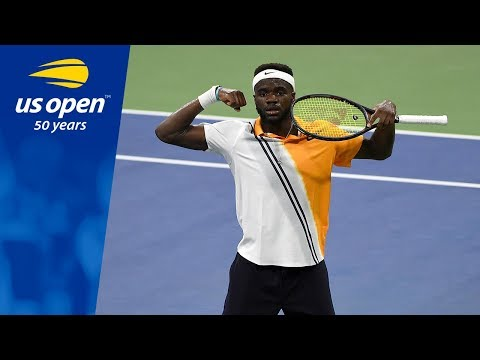 Frances Tiafoe Earns First US Open Win vs. Adrian Mannarino at the 2018 US Open