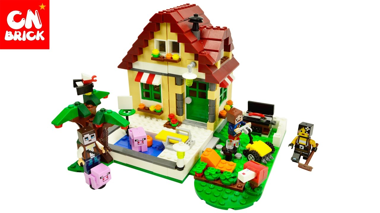 minecraft how to make a my cousins lego