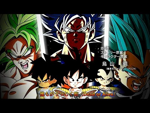 【MAD】Dragon Ball Super Opening「Broly Movie」「Date a Live」