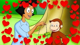 Curious George 🐵❤️Relax! ❤️🐵Valentines Day Special❤️🐵 Kids Cartoon