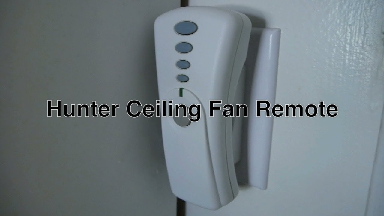 Hunter Ceiling Fan Remote Control With Light Sd Ons Universal Dip Switch On 350 Mhz Freq