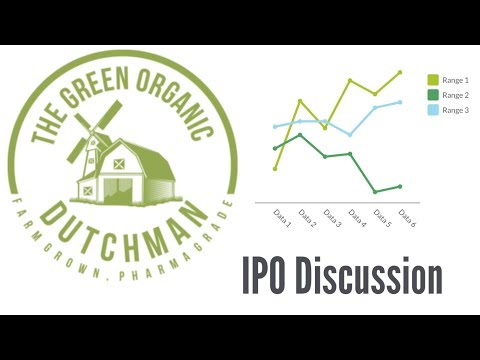 The Green Organic Dutchman IPO (tgod) Discussion Livestream! are Cannabis stocks a good buy?