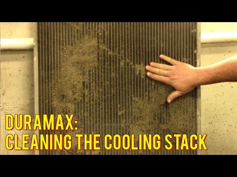 Mechanics Minute Ep 4.- Duramax Cooling Stack Cleaning