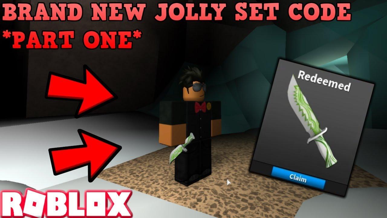 Jolly Green Code First Part Of Jolly Set Roblox Assassin Brand