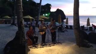 baby give it up acoustic cover alon beach shangrila video by mam suzzy callanan