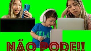 REGRAS DE CONDUTA NA AULA ONLINE - Rules in the online classroom - Theo Comanda