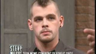 Teen Moms Confront Deadbeat Dads (The Steve Wilkos Show)