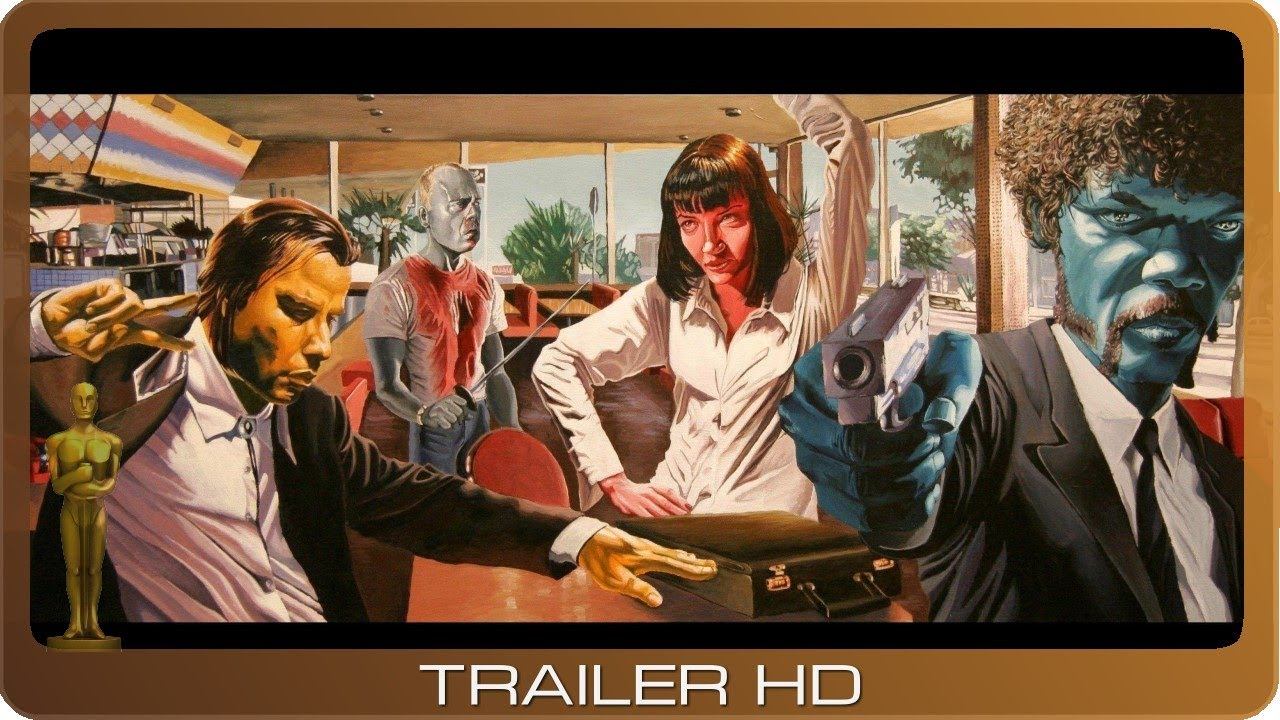 Pulp Fiction ≣ 1994 ≣ Trailer #2 ≣ German | Deutsch