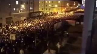 Schalke fans in Salzburg