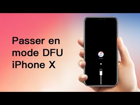 Tutoriel 2019 : Comment mettre un iPhone X en mode DFU