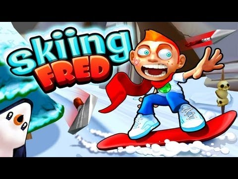 Skiing Fred игра на Андроид и iOS