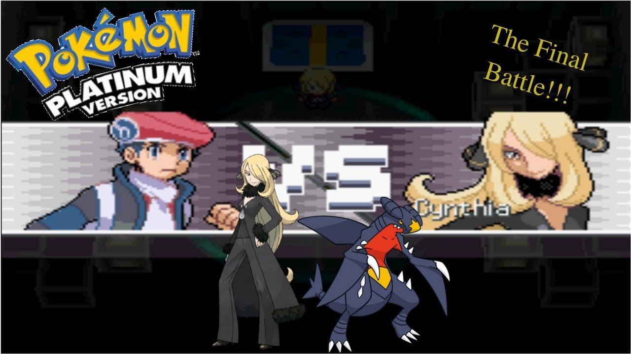 szeroki zasięg ceny detaliczne sprzedaż Pokemon Platinum - The Final Battle vs Champion Cynthia