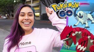 Catching GEN 3 Pokemon & Groudon, PLUS MORE! - Pokemon GO