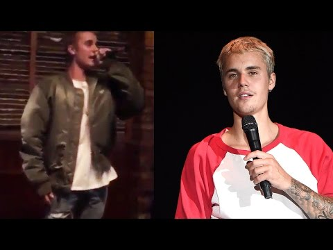Justin Bieber Skips Out On VMAs To Sing Karaoke