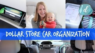 Simple Car Organization (Dollar Store!) 🚗