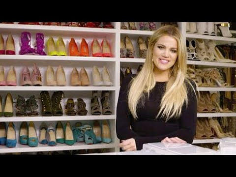 [FULL VIDEO] Khloe Kardashian | My Closet + Organizing Jewellery And Makeup Collection | Khlo-C-D