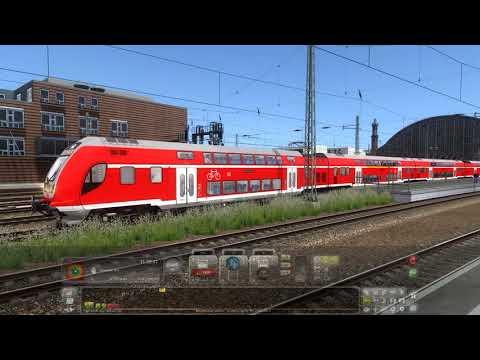 Rail Traction Twindexx Vario BR446 on Munster-Bremen Route by Aerosoft |