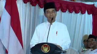 Sarang Berdzikir untuk Indonesia Maju Bersama Presiden RI, Rembang, 1 Februari 2019