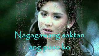 SINO NGA BA SIYA  with lyrics - KARAOKE- SARAH GERONIMO