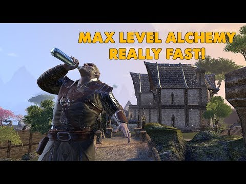 ESO - Max Level Alchemy REALLY FAST!