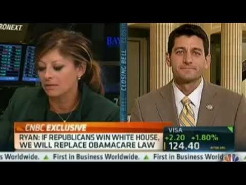 Rep. Ryan on CNBC's Closing Bell with Maria Bartiromo
