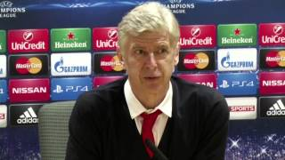 Arsene Wenger jokes about getting an easier draw in the Champions League