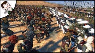 Epic 9000 Man Crusader Last Stand - Medieval Kingdoms Total War Attila Mod Gameplay