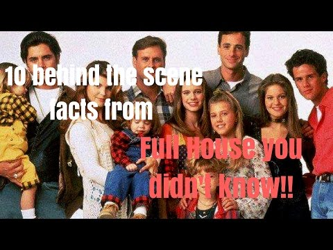 10 Behind the Scenes Facts from Full House you didn't know