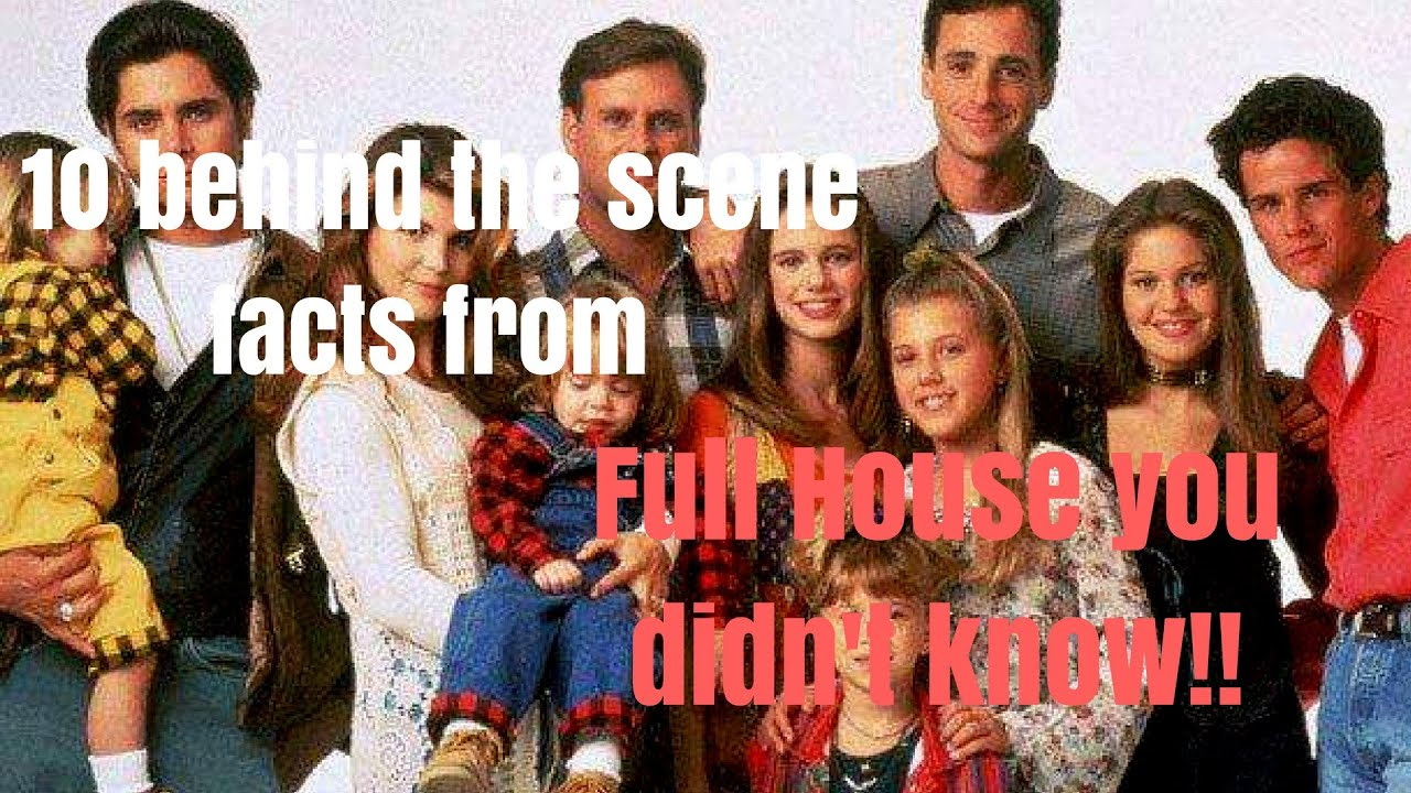 Behind the Scenes Facts from Full House you didnt know